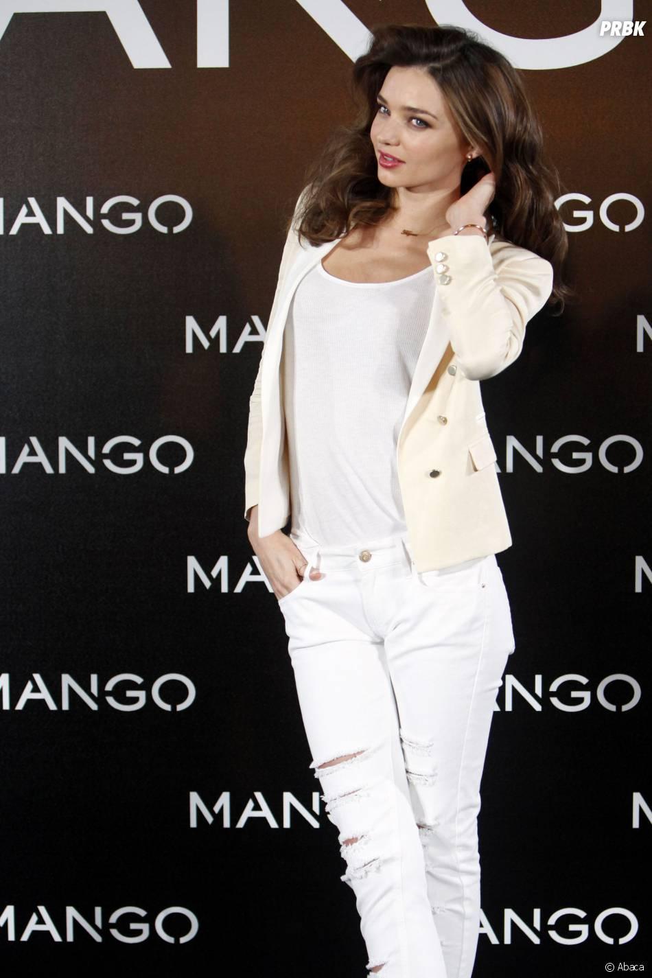 Miranda Kerr, cover girl sexy du prochain numéro de GQ, mai 2014