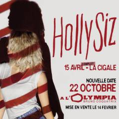 Hollysiz de retour en concert à l'Olympia !