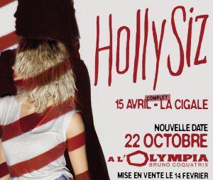 Hollysiz en concert