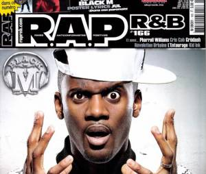 Black M en Une du magazine Rap R&B de mars-avril 2014