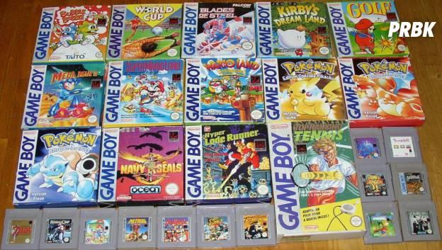 game boy cartouches cultes