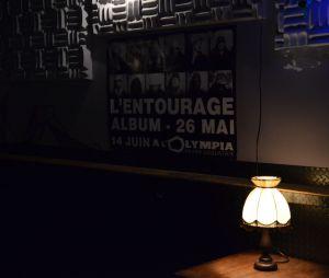 L'Entourage : des fans ont participé à une pré-écoute de l'album Jeunes Entrepreneurs du collectif, au Pop-up du Label à Paris, le 24 avril 2014
