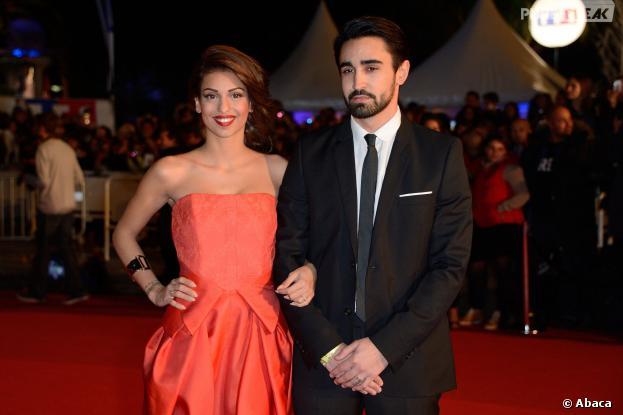 Tal et son boyfriend Anthony aux NMA 2014, le 14 décembre 2013 à Cannes
