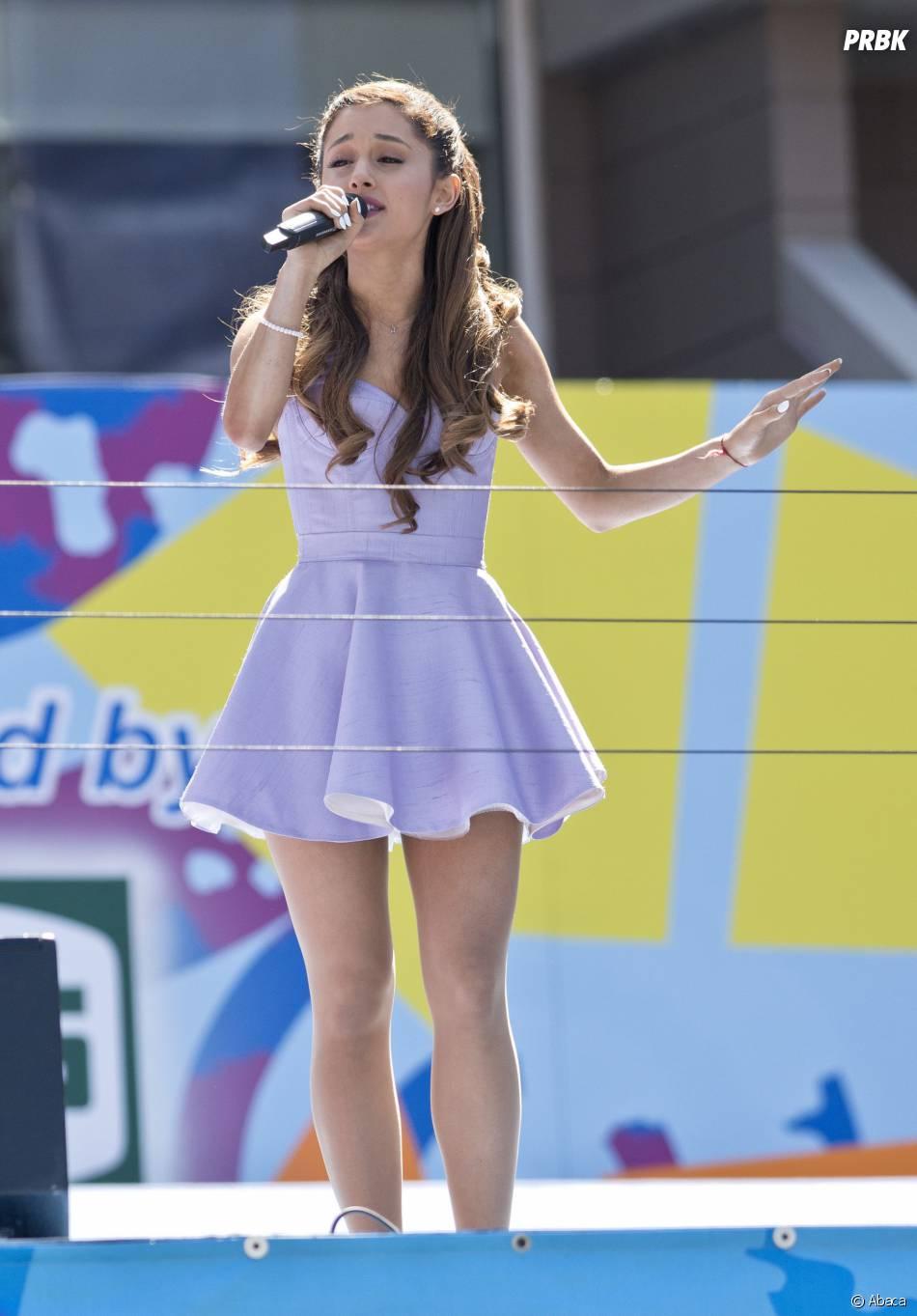 Ariana Grande excitée par son duo avec Justin Bieber