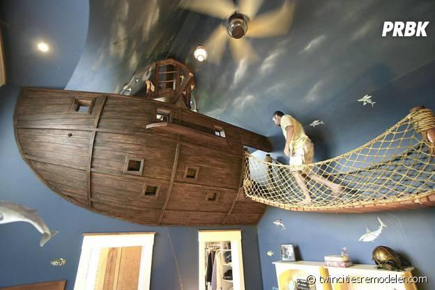 Chambre bateau pirate