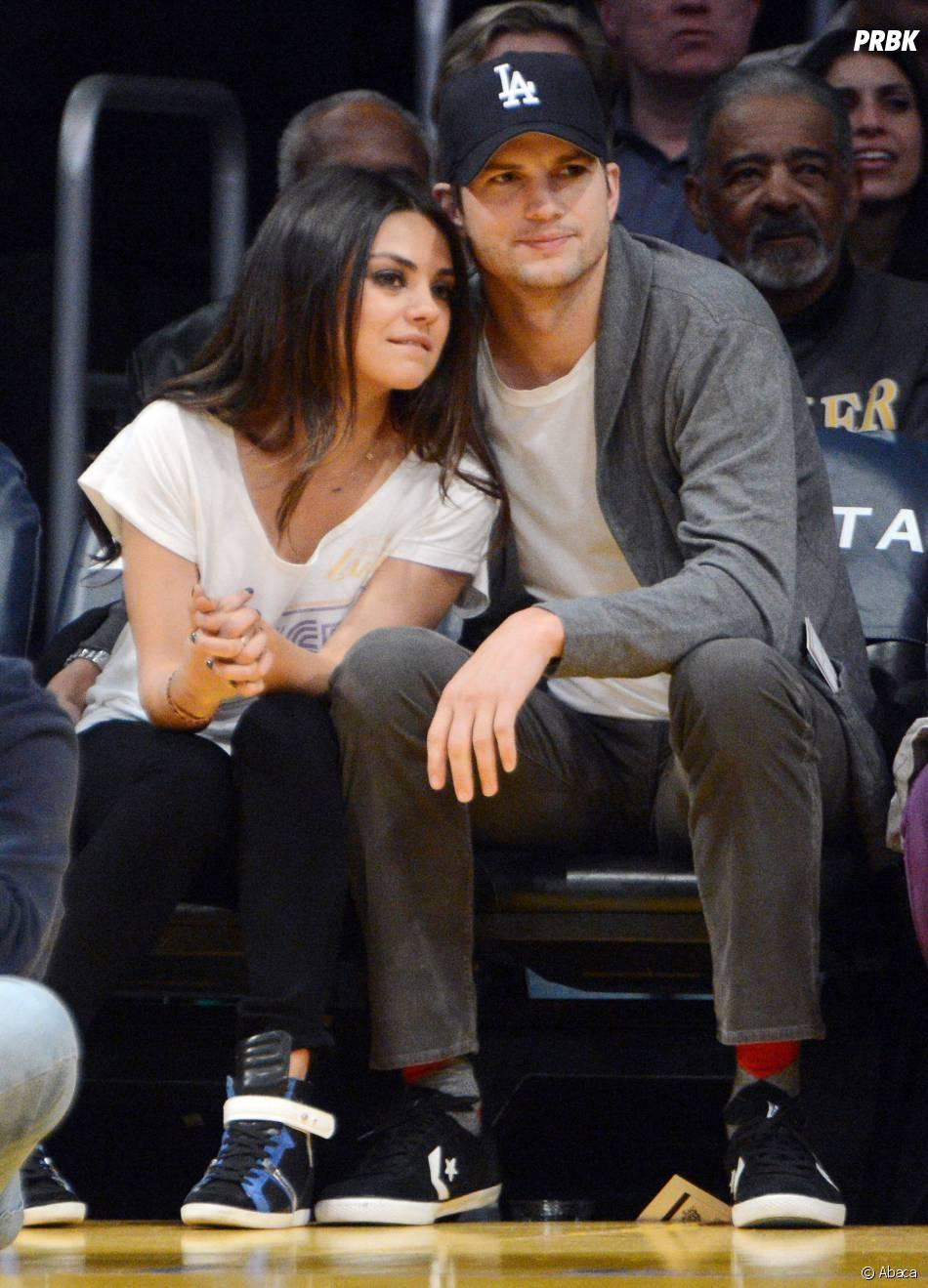 Mila Kunis et Ashton Kutcher vont devenir parents en 2014