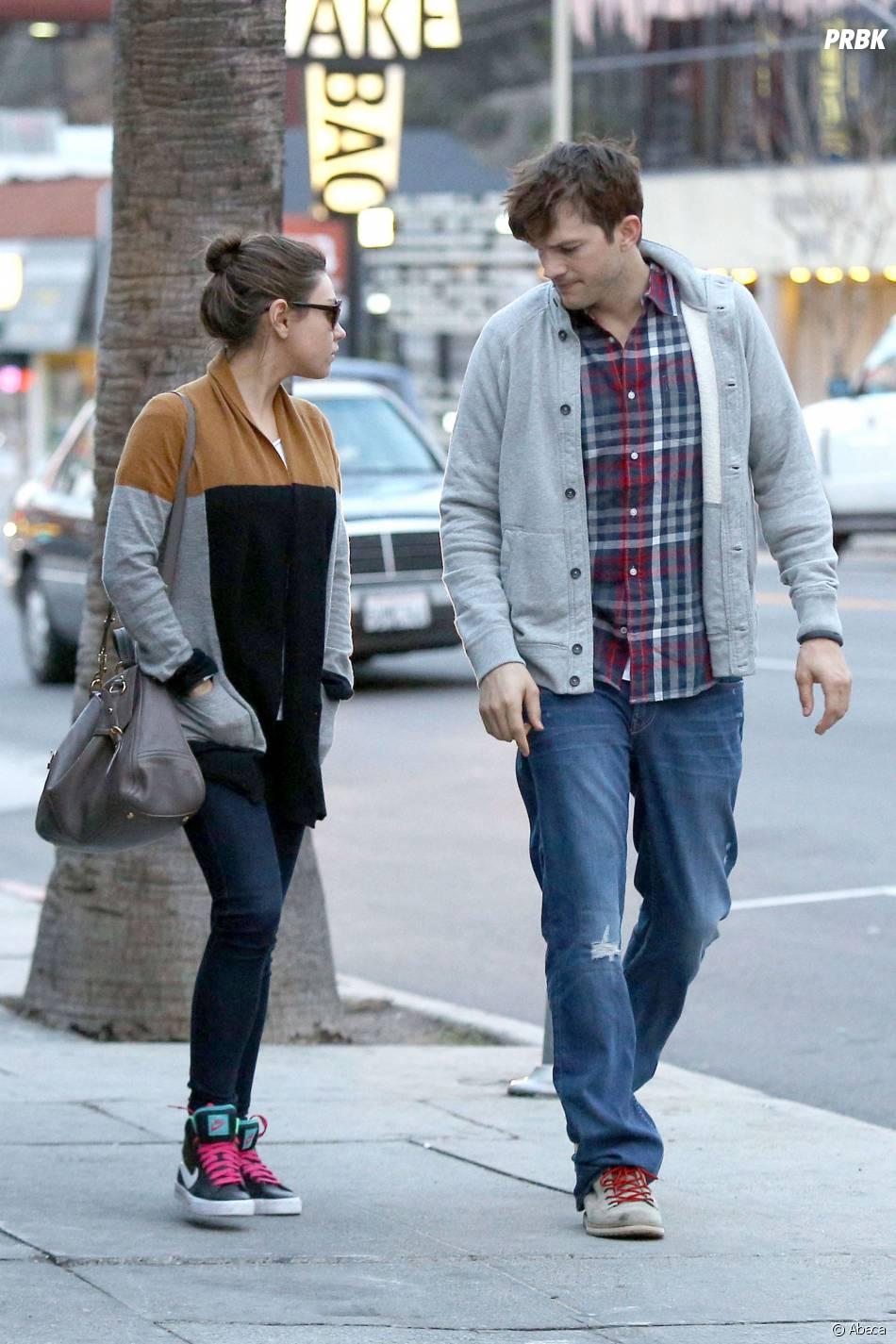 Mila Kunis et Ashton Kutcher : le couple va accueillir son premier enfant