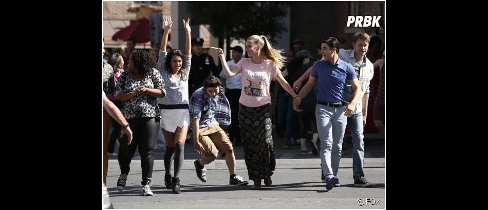 Glee saison 5, épisode 20 : le cast s'éclate à New York