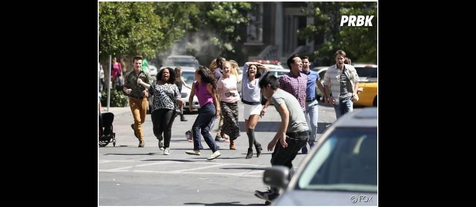 Glee saison 5, épisode 20 : le cast s'éclate à NY
