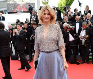 Alice Taglioni sur le tapis rouge de l'ouverture du Festival de Cannes 2014, le 14 mai