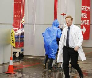 Grey's Anatomy saison 10, épisode 24 : Kevin McKidd sur une photo du final
