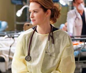 Grey's Anatomy saison 10, épisode 24 : Sarah Drew sur une photo du final