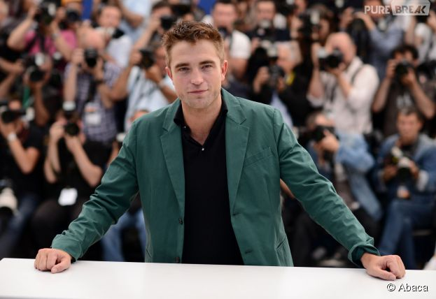 Robert Pattinson au photocall du film The Rover au Festival de Cannes 2014, le dimanche 18 mai