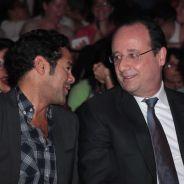 Jamel Debbouze et François Hollande complices au Trophée Culture & Diversité