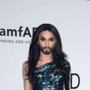 Conchita Wurst, Justin Bieber enfin habillé... : les stars aux AmfAR Gala