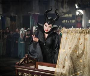 Maléfique : Angelina Jolie sur une photo du film