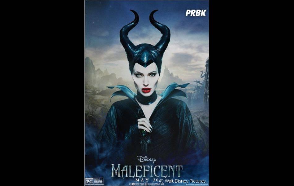 Maléfique : Angelina Jolie sur l'affiche du film