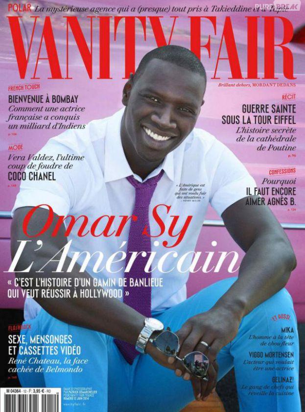 Omar Sy en Une de Vanity Fair