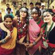 Selena Gomez lors de son voyage solidaire au Népal pour l'UNICEF