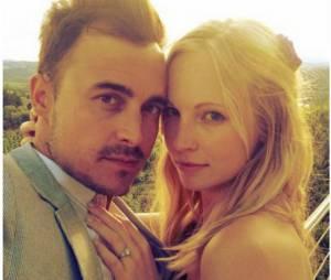 Candice Accola et son fiancé Joseph King du groupe The Fray