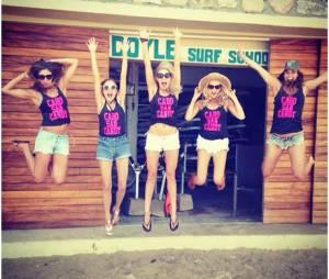 Candice Accola au Mexique avec ses copines pour son enterrement de vie de jeune fille