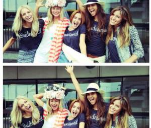 """Candice Accola entre copines pour sa """"Bachelorette Party"""""""