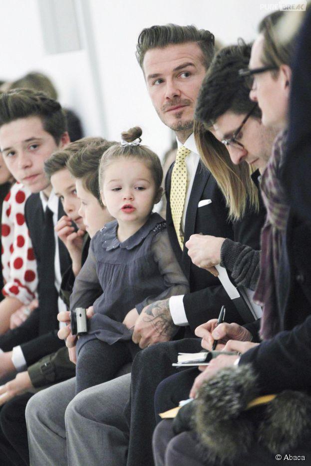 David Beckham et Harper : un papa star de rêve pour la fête des pères