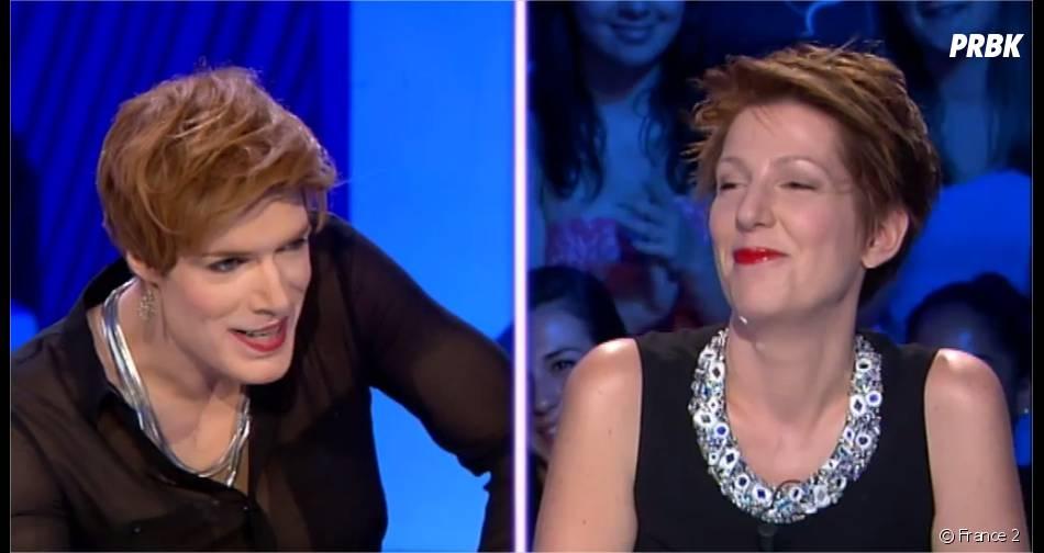 Nicolas Bedos face à Natacha Polonydans On n'est pas couché sur France 2 le 14 juin 2014