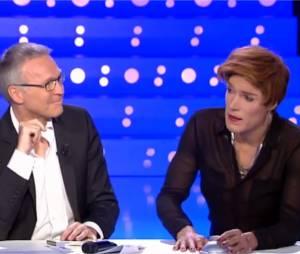 Nicolas Bedos et Laurent Ruquier dans On n'est pas couché sur France 2 le 14 juin 2014