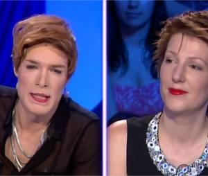 Nicolas Bedos se déguise en Natacha Polonydans On n'est pas couché sur France 2 le 14 juin 2014