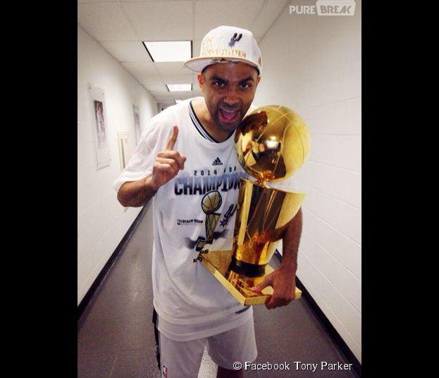 Tony Parker champion de NBA grâce aux Spurs de San Antonio