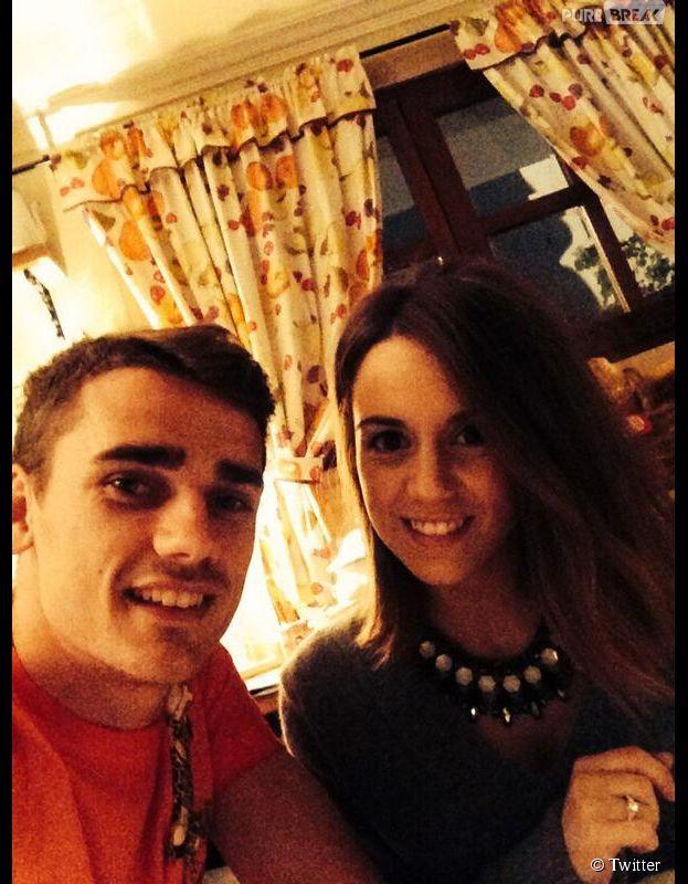 Antoine Griezmann en couple avec Erika, une belle Espagnole