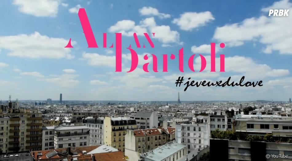 Alban Bartoli et son nouveau clip qui célèbre l'amour, 'Je veux du Love'