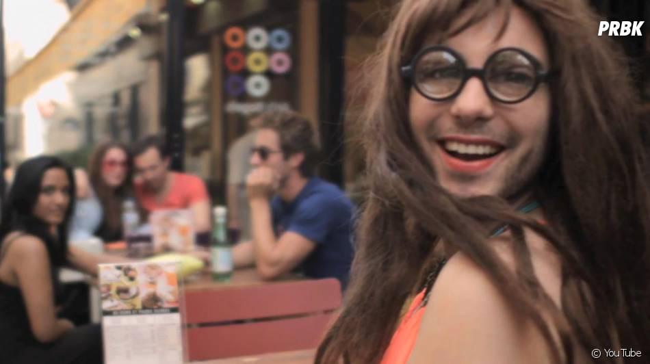 Alban Bartoli travesti en femme pour son nouveau clip, 'Je veux du Love'