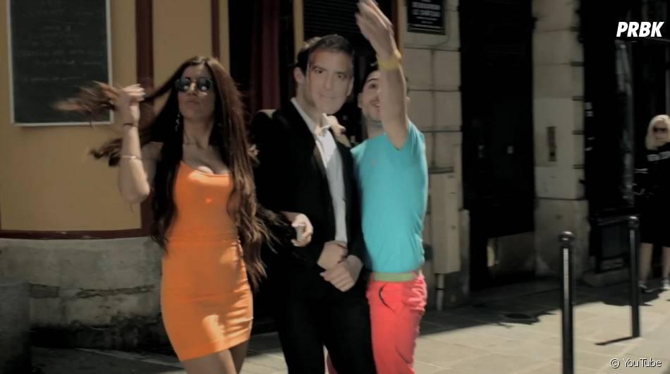 Alban Bartoli a dévoilé son nouveau clip, 'Je veux du Love' (presque) avec George Clooney !