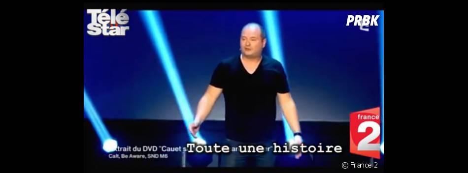 Cauet rend hommage à ses parents dans son dernier One Man Show