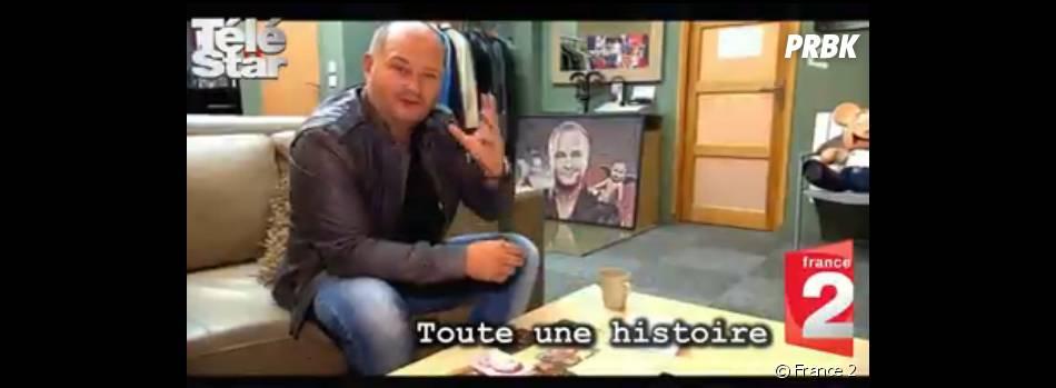 Cauet sujet d'un reportage dans Toute une histoire, le 25 juin 2014, sur France 2