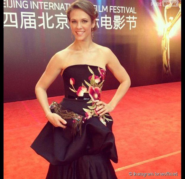 Lorie prochainement à l'affiche d'un film chinois ?