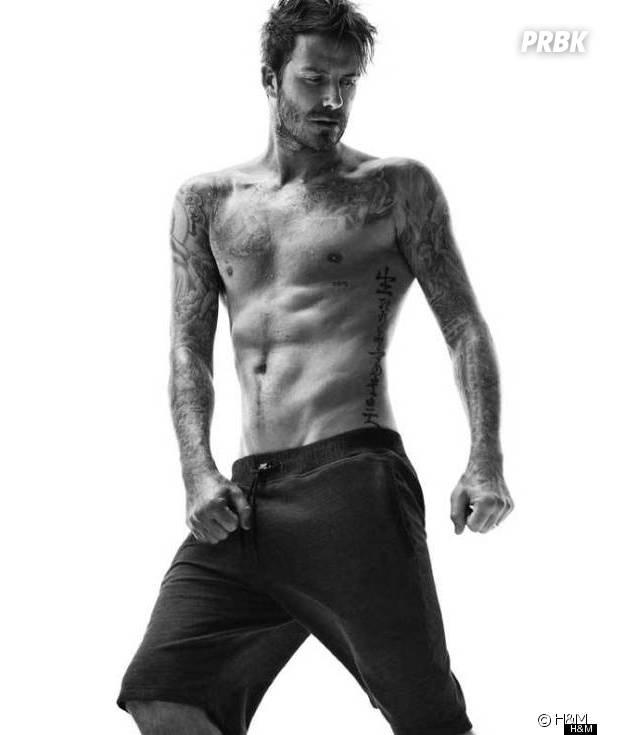 David Beckham en sous-vêtements pour la campagne H&M automne-hiver 2014