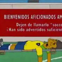 Neymar : Les Simpson avaient prévu sa blessure bien avant le Mondial 2014