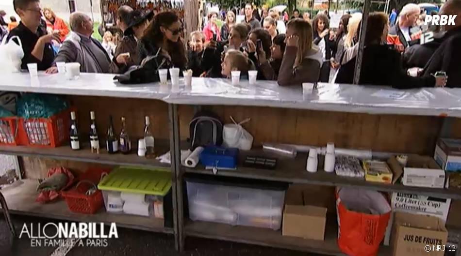 Bain de foule pour Nabilla Benattia dans Allo Nabilla