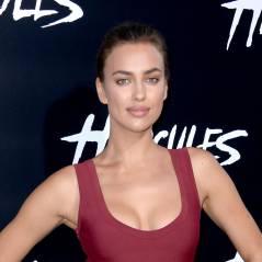 Irina Shayk : Mme Cristiano Ronaldo en robe moulante et décolletée pour Hercule