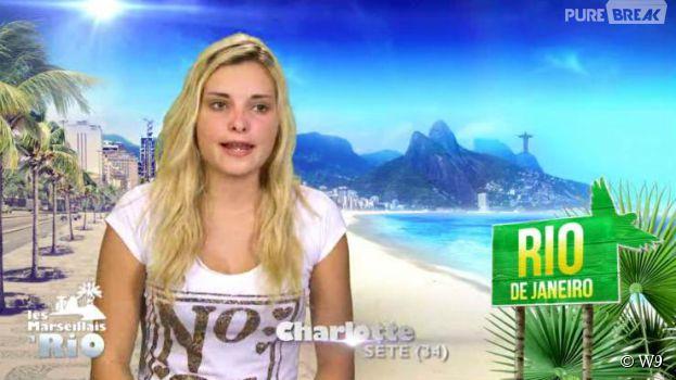 Charlotte pendant Les Marseillais à Rio sur W9