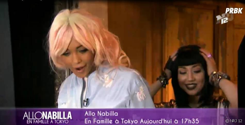 Nabilla Benattia relookée dans Allo Nabilla