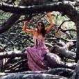 Laury Thilleman en vacances à Porquerolles