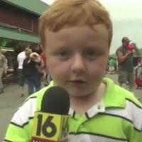 Apparently Kid : un garçon de 5 ans fait craquer le web en une seule interview