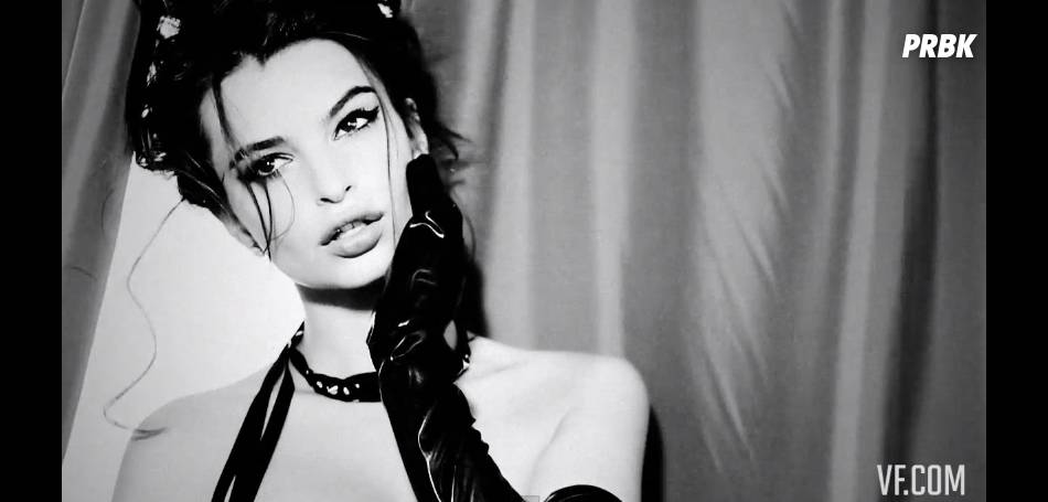 Emily Ratajkowski sexy pour Vanity Fair