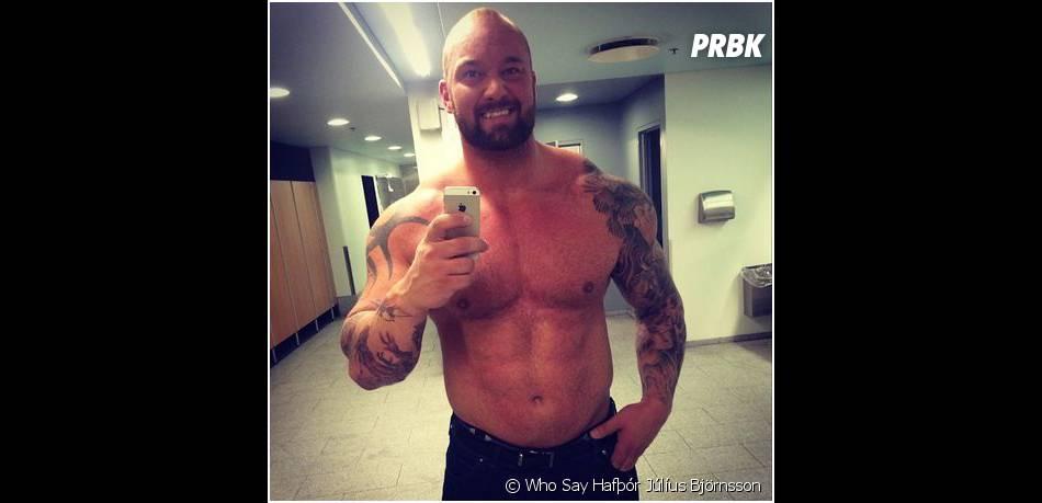 Hafthor Julius Bjornsson : La Montagne de Game of Thrones en mode selfie musclé sur Instagram