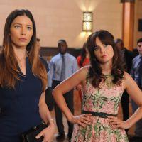 New Girl saison 4 : Jess face à une Jessica Biel sexy sur les premières images