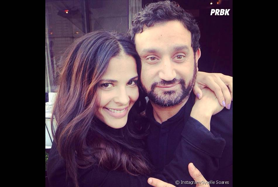 gyselle soares avec cyril hanouna sur instagram le 25 ao t 2014. Black Bedroom Furniture Sets. Home Design Ideas